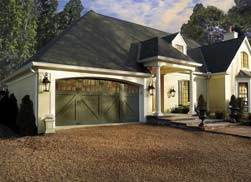 Wood Composite Garage Door